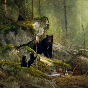 Michael Coleman-Visitors on the Sun River Black Bears