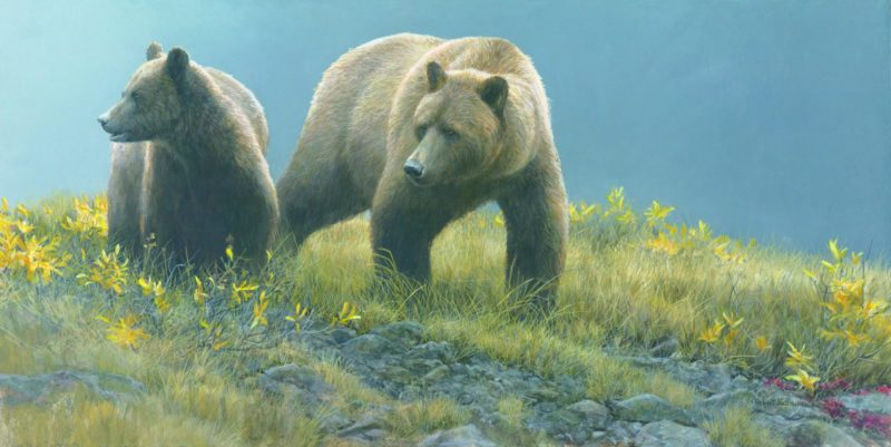 Robert Bateman-Alaska Light