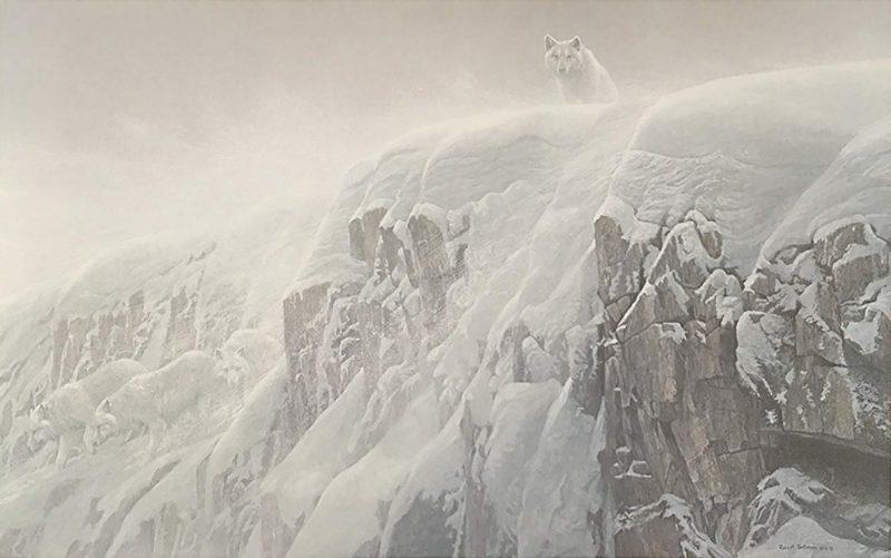 Robert Bateman-Arctic Cliff