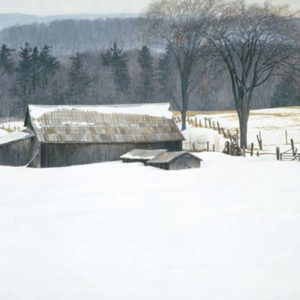 Robert Bateman-along walkers line