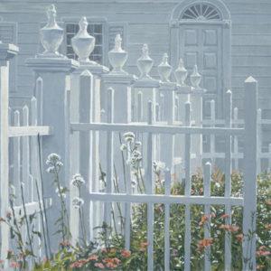 Robert Bateman-colonial garden