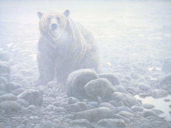 Robert Bateman-end of season grizzly
