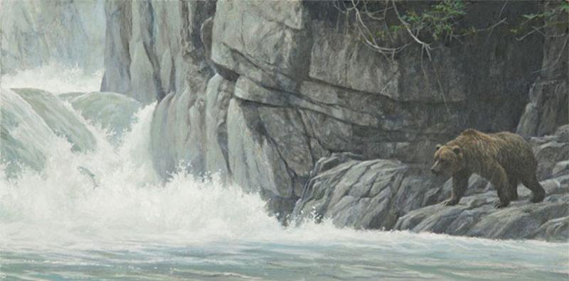 Robert Bateman-fishing hole