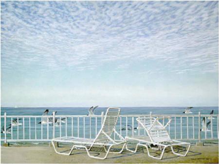Robert Bateman-gulf coast and laughing gulls