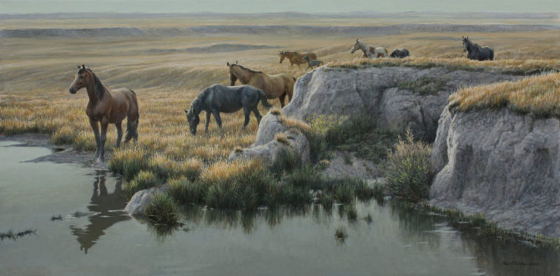 Robert Bateman-mustang country