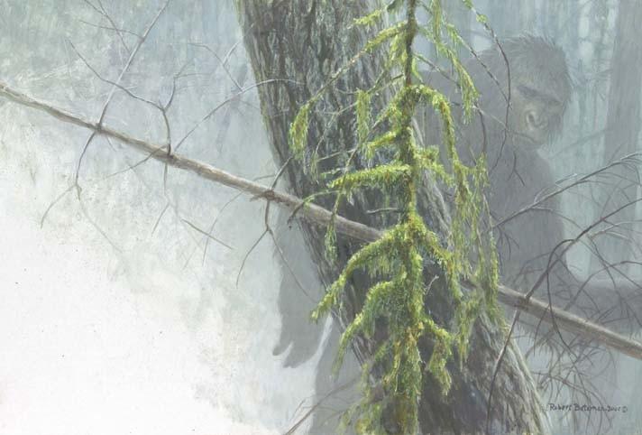 Robert Bateman-sasquatch