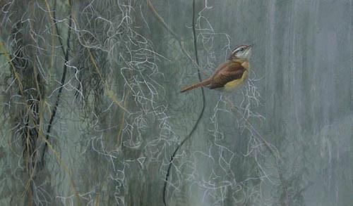 Robert Bateman-song of the south carolina wren