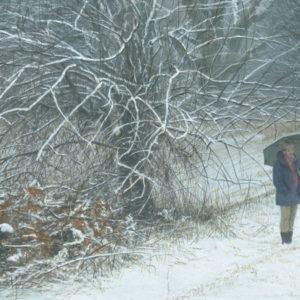 Robert Bateman-winter walk
