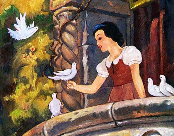 jim salvati-snow white on the balcony