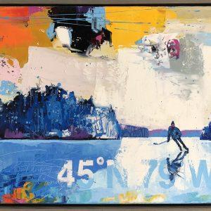 Brian Lorimer - 45N79W - Pond Hockey