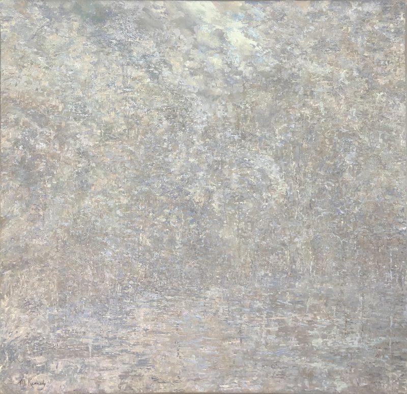 Symphony in Blue - 60 x 60